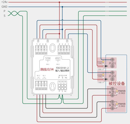 西门子fdcio181-2双输入/输出模块使用说明书