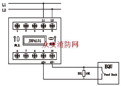 北大青鸟jbf4131输入模块接线图